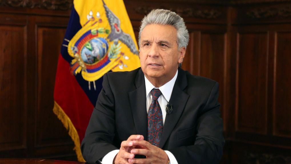 Lenín Moreno prorroga el estado de excepción en Ecuador