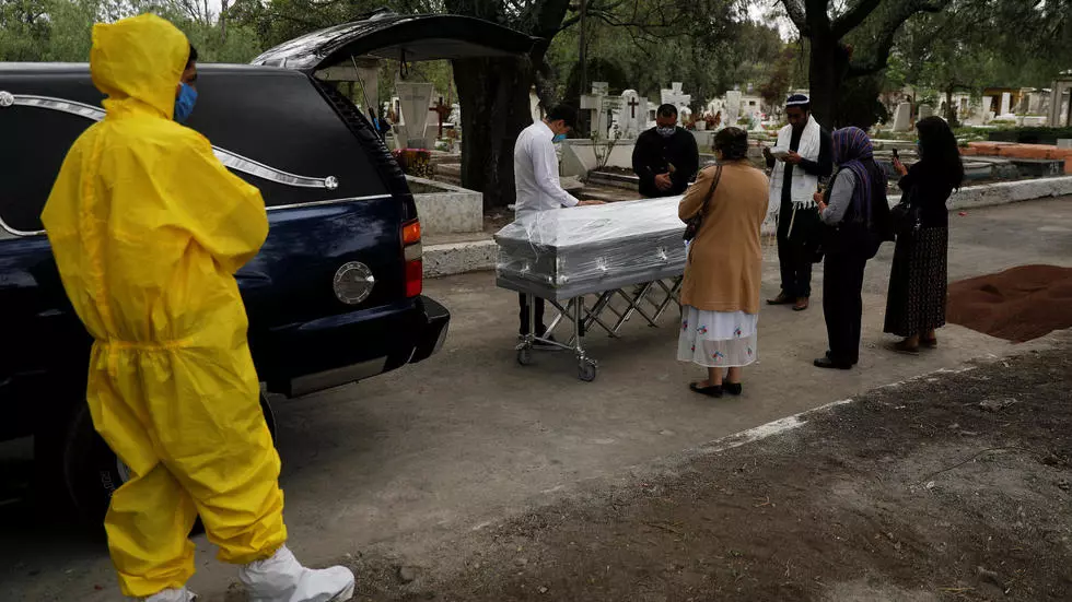 México supera los 22.000 decesos por COVID-19