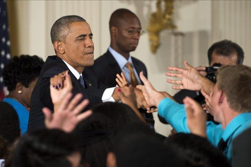 """Obama se declara """"feliz"""" por los """"soñadores"""" tras el fallo del Supremo"""
