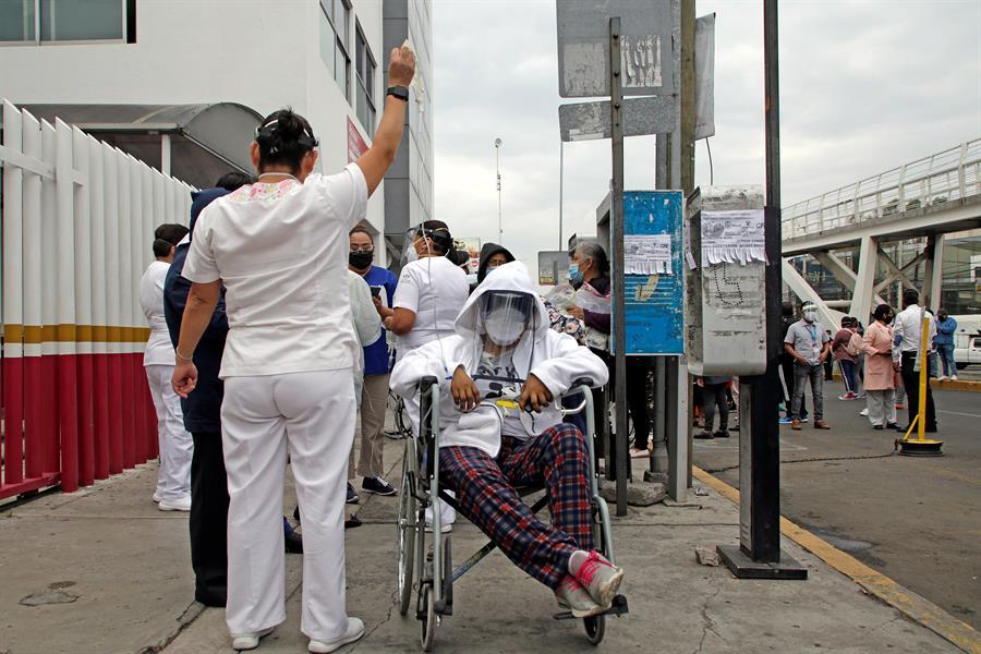 Seis personas muertas y 500 casas dañadas por efecto del terremoto en México