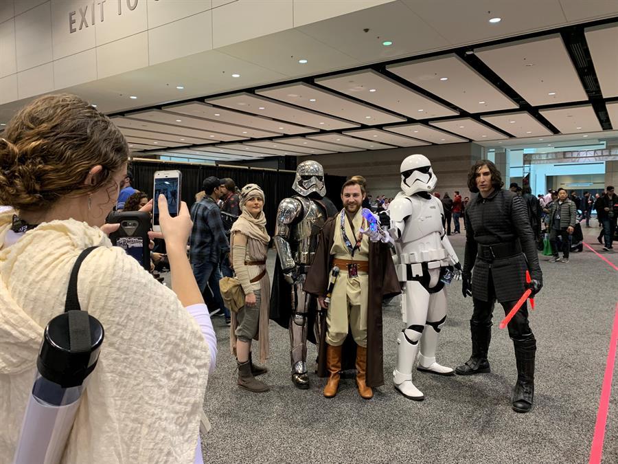 """Star Wars Celebration"" se aplaza hasta 2022 por el coronavirus"