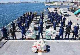 EE.UU. decomisa más de 3 toneladas de cocaína en el Caribe