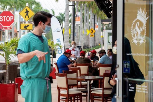 Florida con 66.000 casos de COVID-19 supera mil diarios durante una semana