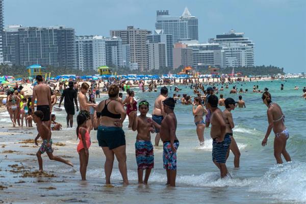 En una reapertura sin retroceso Florida suma otros 2.610 casos en un día