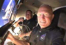 Astronautas del SpaceX destacan suavidad del viaje