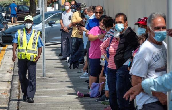 Multas de hasta 500 dólares por no llevar mascarilla en Miami