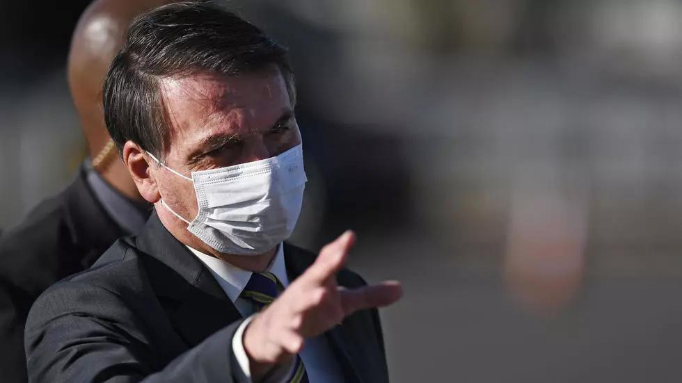 Bolsonaro se somete a nueva prueba de COVID-19
