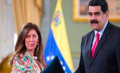 Maduro recula y suspende la decisión de expulsar a la embajadora de la UE