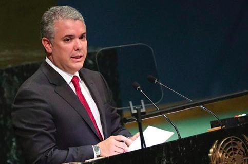 """Duque: """"La integración pasa por el fin de la dictadura en Venezuela"""""""
