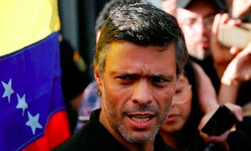 Leopoldo López acusa al Gobierno y a Supremo de Venezuela de robar su partido