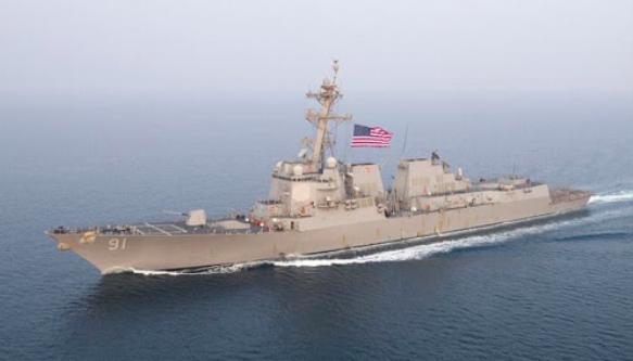 """Régimen de Maduro denuncia """"ingreso furtivo"""" en sus aguas de buque de guerra de EEUU"""
