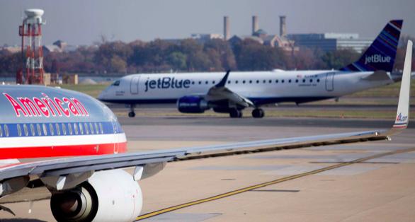 Aerolíneas American Airlines y Jetblue se alían para compartir vuelos