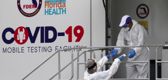Batalla contra el COVID-19 continúa en Florida con 9.000 nuevos casos