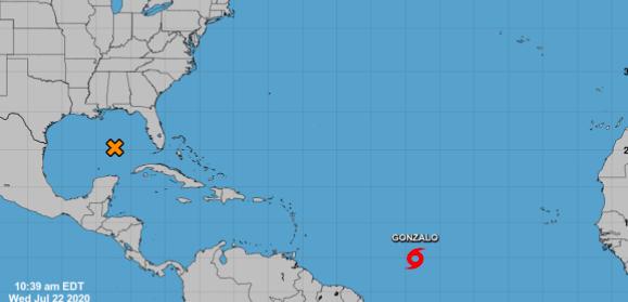 Tormenta tropical Gonzalo se convertirá en un huracán en 24 horas