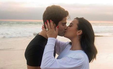 Demi Lovato y el actor Max Ehrich anuncian su matrimonio