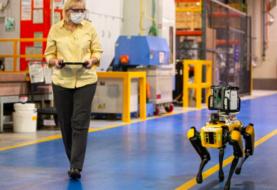 Ford utilizará perros robot para crear un modelo digital de sus ensambladoras