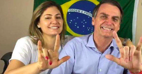 Esposa de Bolsonaro da positivo de coronavirus