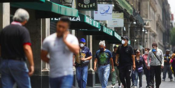 Ciudad de México está en alerta naranja con riesgo de volver a roja por COVID-19