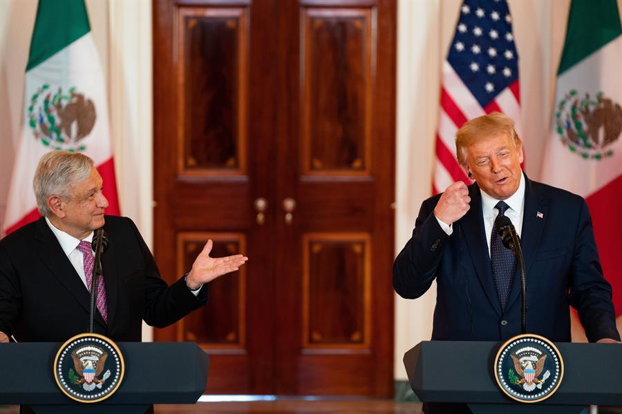 """Trump y López Obrador: dos buenos """"cuates"""" que no se pelean"""