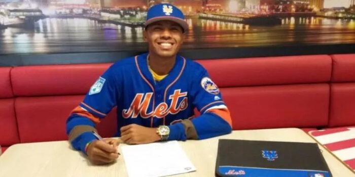 Venezolano Richard Brito, la última promesa de los Mets