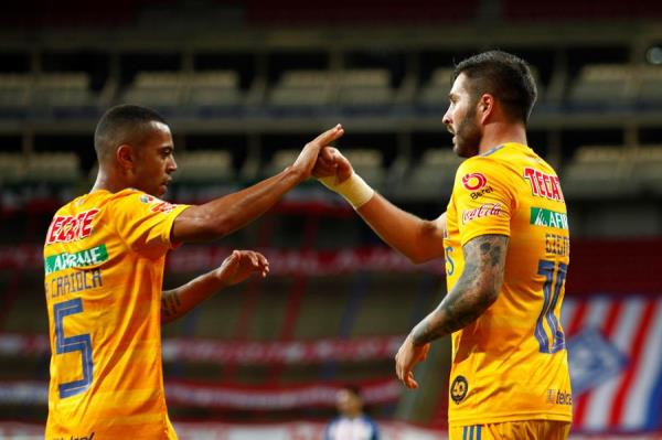 Gignac anota dos goles y da la victoria a Tigres en la Copa por México