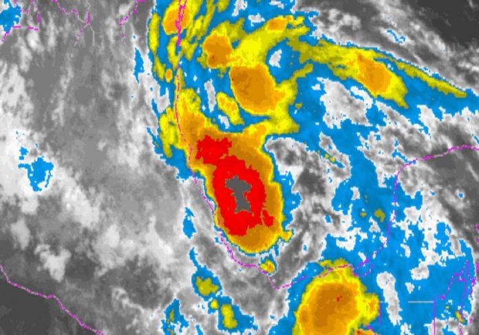Séptima depresión tropical se forma en el Atlántico central