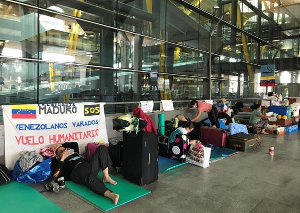 Venezolanos varados en España regresarán a su país desde el 21 de julio