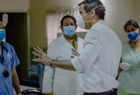 Régimen de Maduro bloquea plataforma usada por oposición para pagar bono a sanitarios