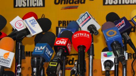 Registran 162 ataques contra la prensa en Venezuela de enero a junio de 2020