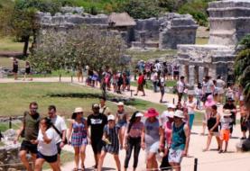 Llegada de turistas extranjeros a México cae un 57,5 % por pandemia