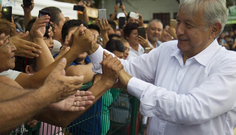 López Obrador hará gira por el norte de México, donde tiene menos apoyos