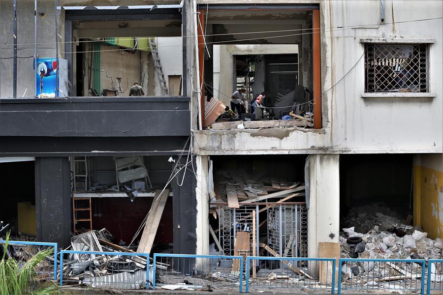 Muertos por la explosión en Beirut se eleva a 154 y heridos graves a 120