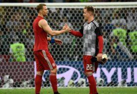 Neuer y ter Stegen tientan un duelo que definirá el portero de la selección alemana