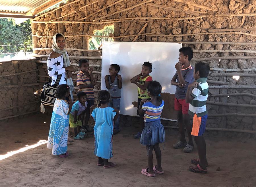 Niños indígenas en Colombia en riesgo de muerte y desnutrición
