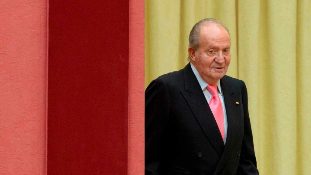 Rey Juan Carlos I está en Emiratos Árabes Unidos