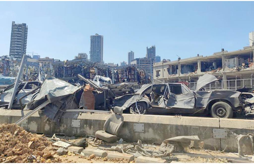 Puerto de Beirut opera con normalidad dos semanas después de explosión