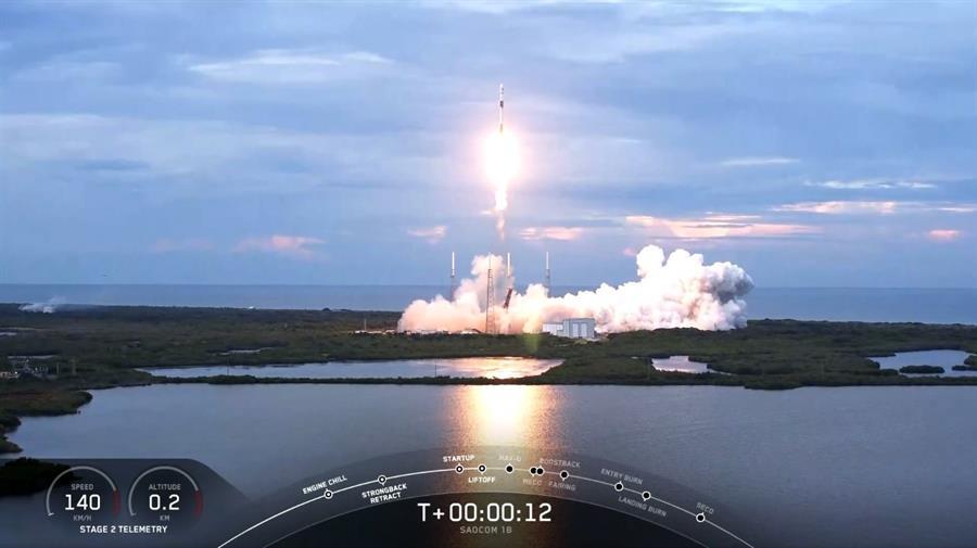 SpaceX pone en el espacio el satélite argentino SAOCOM 1B