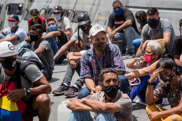 Venezuela supera los 20.000 casos de COVID-19 con el epicentro en Caracas
