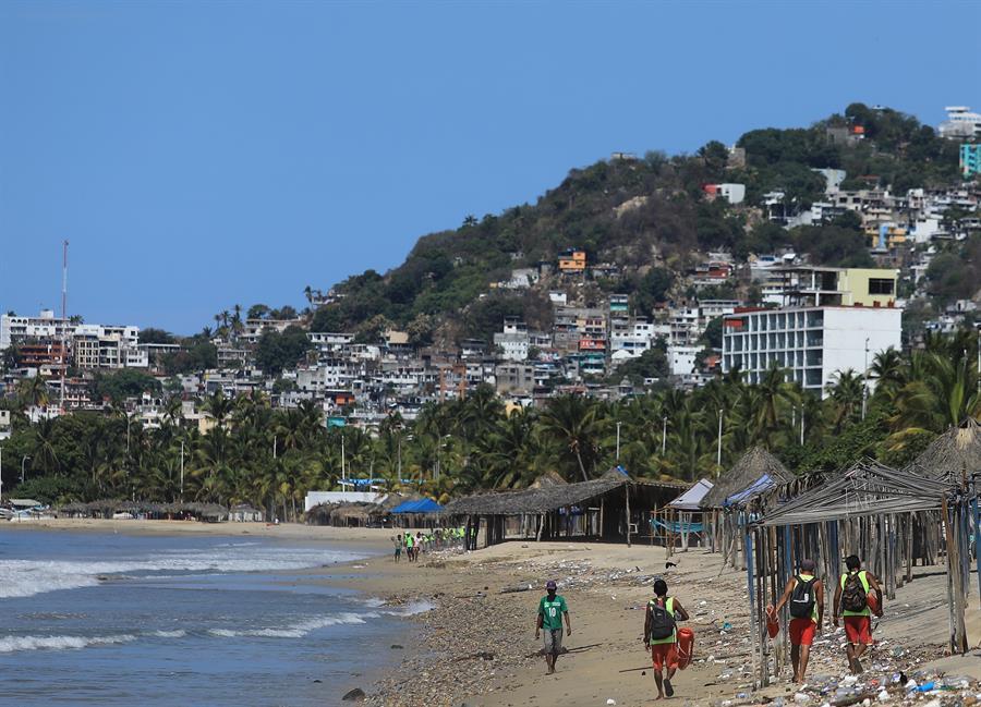 Actividad turística en México cayó 5,3 %