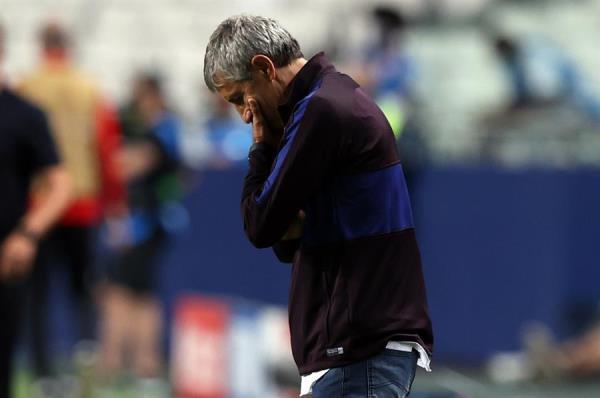 Barcelona despide a Setién