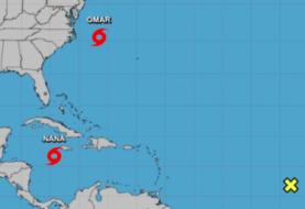"""Tormenta tropical Omar se forma en el Atlántico de EEUU y tendrá """"corta vida"""""""