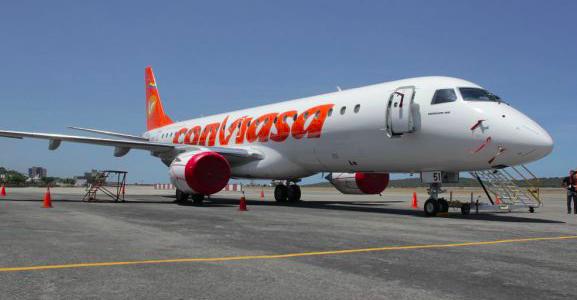 Aerolínea venezolana Conviasa ignora sanciones y viaja a China por ayuda humanitaria