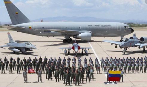 Colombia y EEUU realizarán un ejercicio de entrenamiento militar en el Caribe
