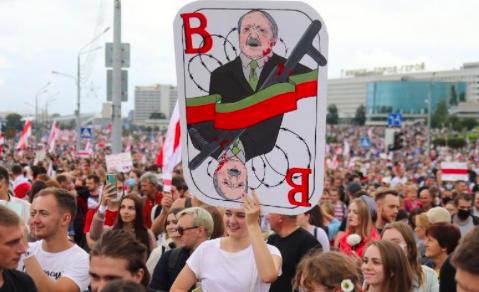 EE.UU. y otros 28 países condenan los cortes de internet en Bielorrusia