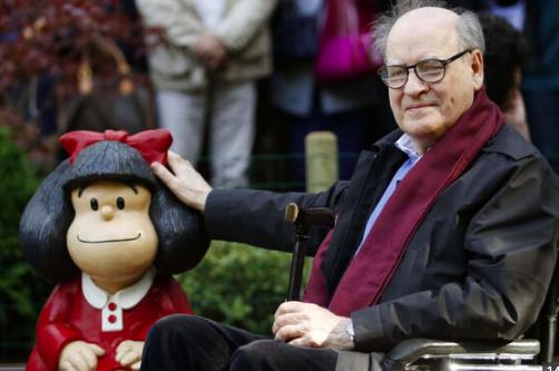 """Fallece Joaquín Salvador Lavado  el creador de """"Mafalda"""""""