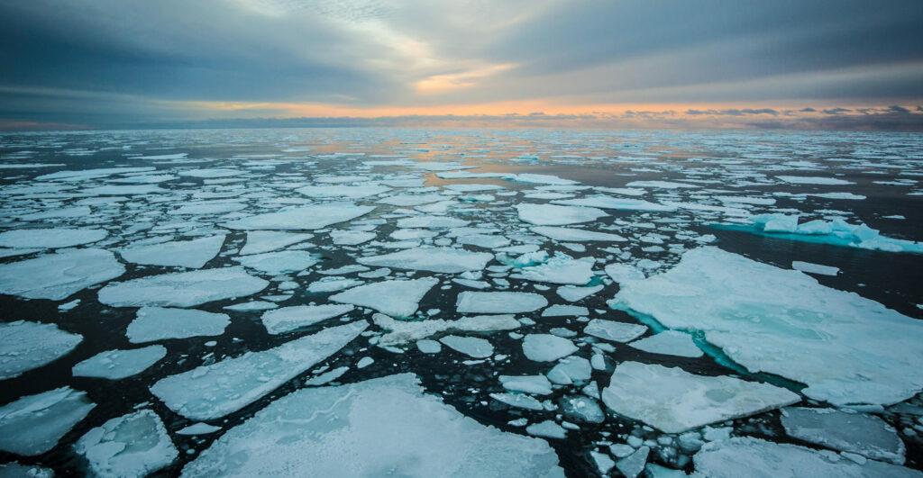El hielo marino del Ártico registra mínimo del año y segundo récord histórico