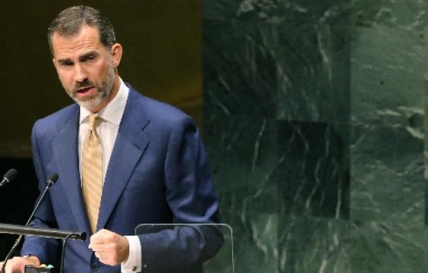 """Felipe VI pide ante la ONU """"unas naciones más unidas"""""""