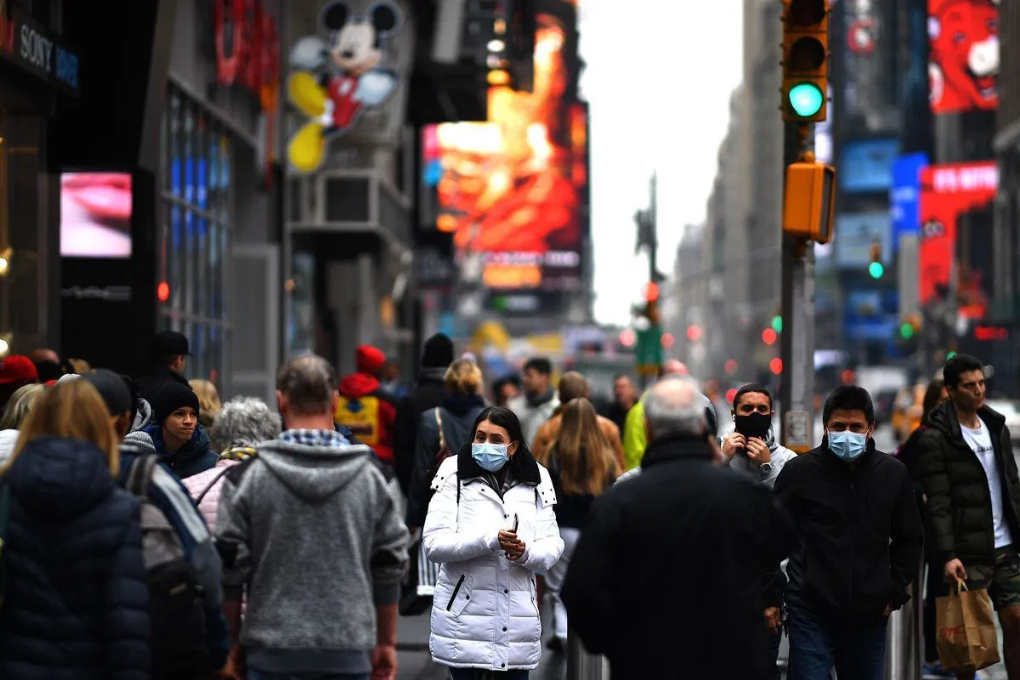 Nueva York baja los niveles de contagios por COVID-19 a menos de 1 %
