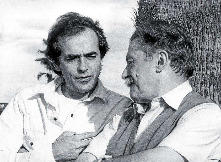 Serrat homenajea a Mario Benedetti