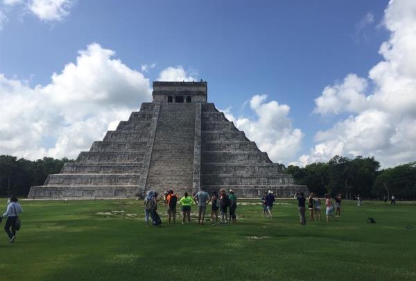 Kukulkán vuelve a las ruinas mayas de Chichén Itzá tras cierre por pandemia